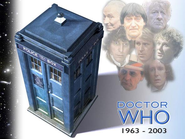 Los Doctores clásicos y la TARDIS