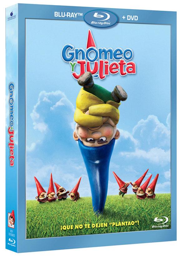 Gnomeo y Julieta Combo DVD y Blu-Ray