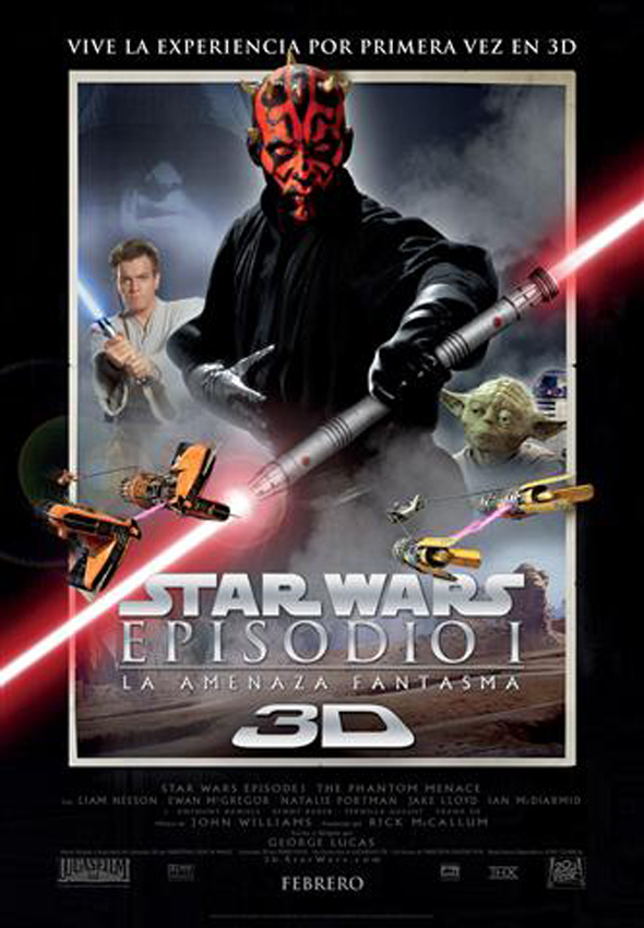 Star wars : episodio I en 3d