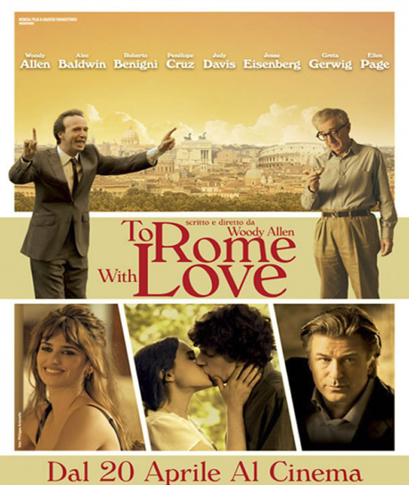 To Rome With Love Interior
