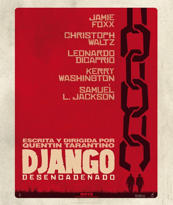 Django Teaser Poster Interior
