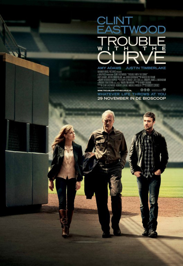 Poster Trouble With The Curve Interior