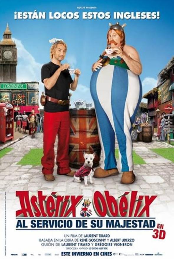 La cuarta aventura de Asterix y Obelix llegará a los cines en ...