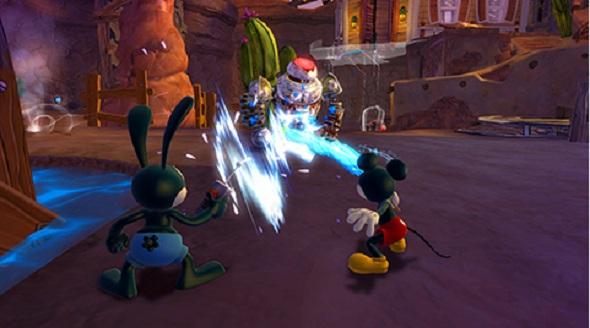 Epic Mickey Interior 2