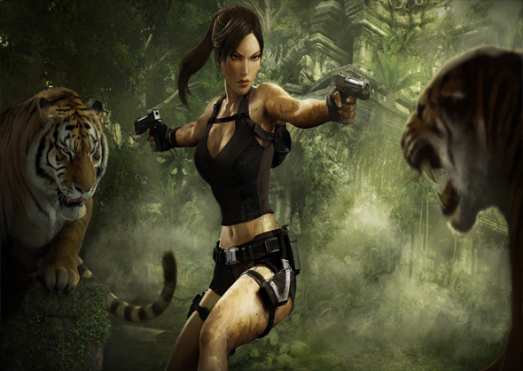 Video Tomb Raider Interior