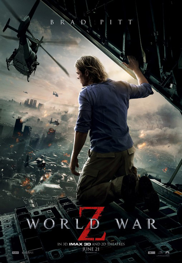 Guerra Mundial Z Poster Final Interior
