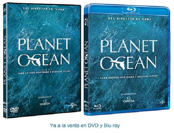 Planet Ocean DVD interior