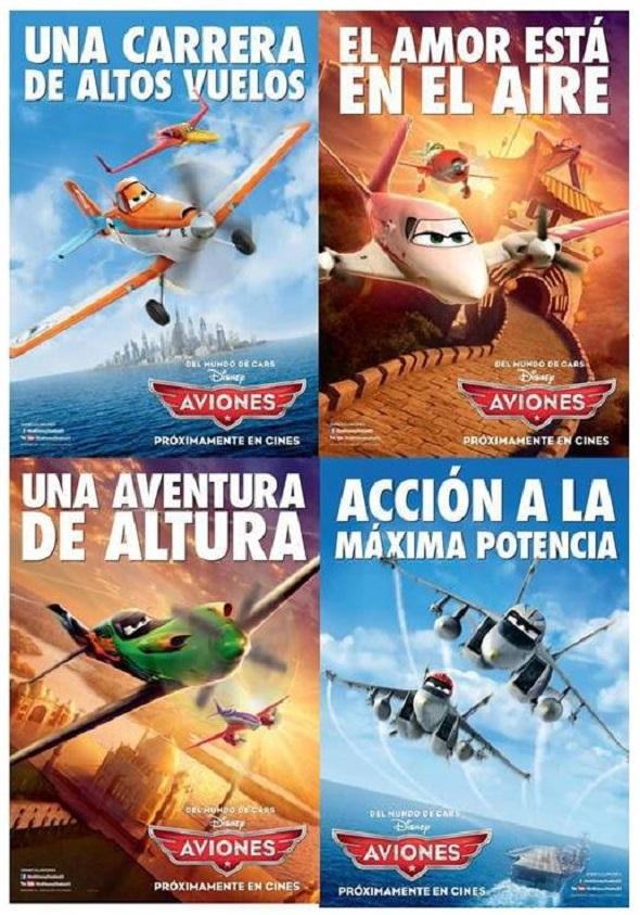 Aviones. Nuevos carteles