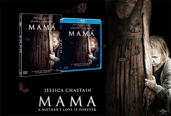 Ediciones DVD y Blu ray de 'Mamá'