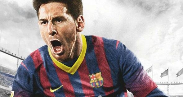 Porta de FIFA14. Leo Messi