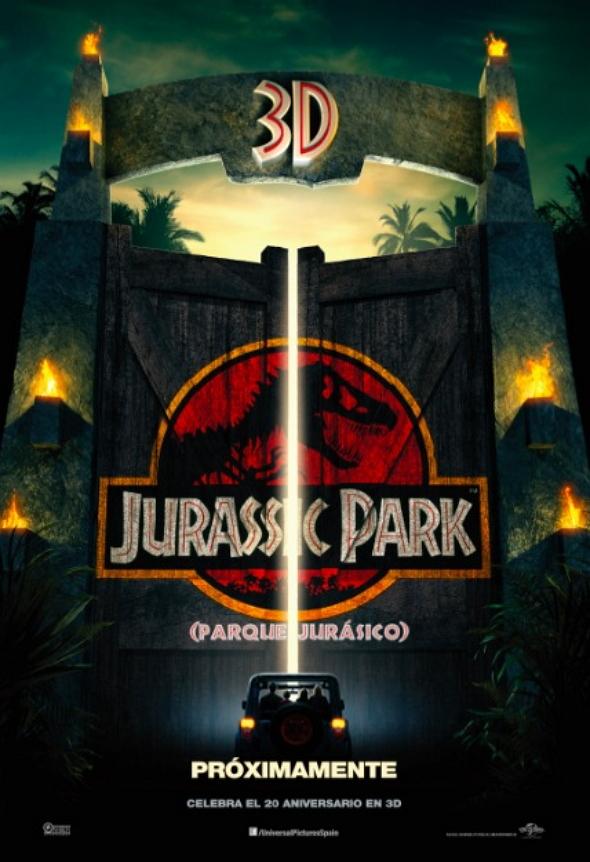 Parque Jurásico 3d