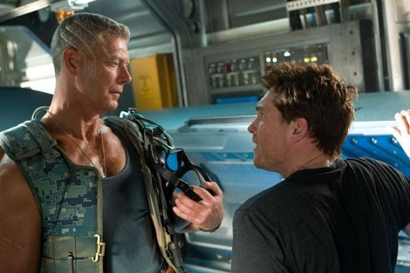 Stephen Lang y Sam Worthington en 'Avatar'
