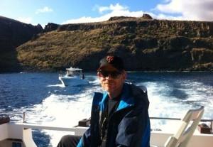 Ron Howard durante el rodaje de 'In the heart of the sea'