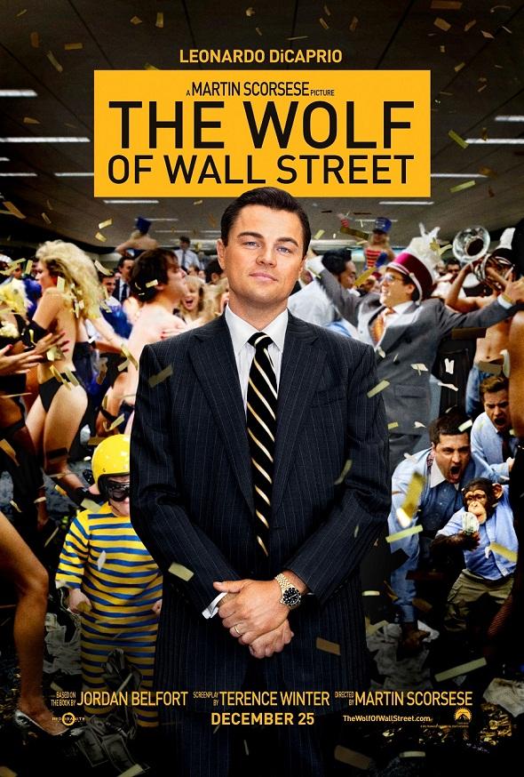 Póster 'El lobo de Wall Street'