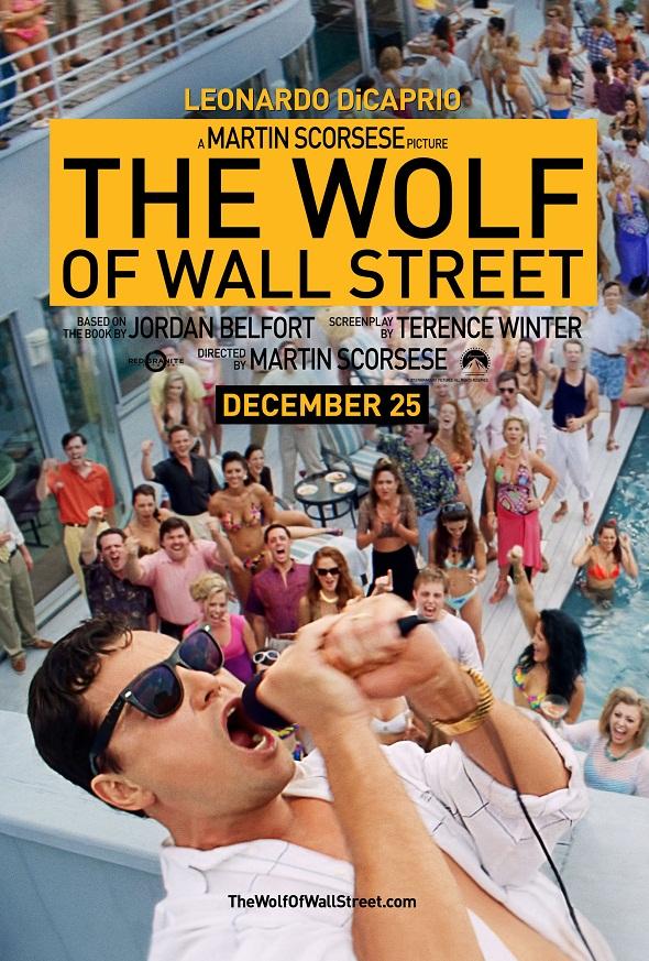 Póster 'El lobo de Wall Street' 2