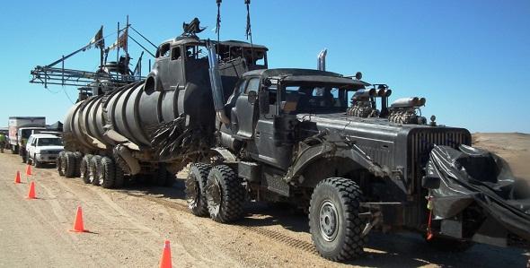 Vehículos de 'Mad Max: Fury Road'