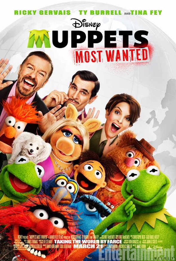 El tour de los Muppets (Muppets Most Wanted)
