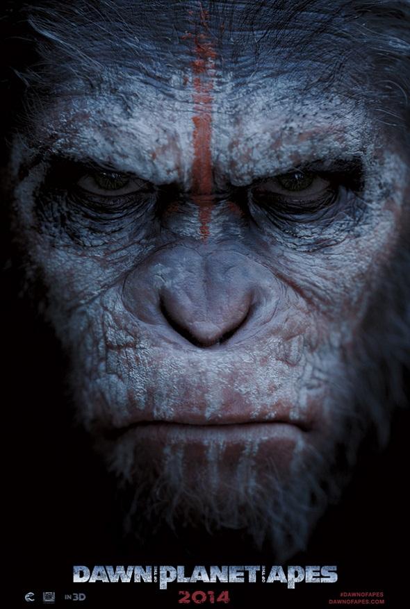 Póster de 'El amanecer del planeta de los simios'