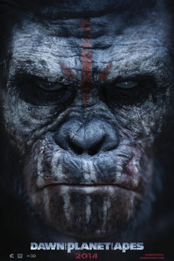 Otro póster más para 'El amanecer del planeta de los simios'