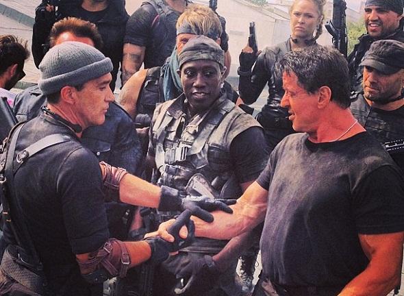Antonio Banderas, Wesley Snipes y Sylvester Stallone entre otros mercenarios