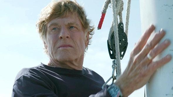 Robert Redford en 'Cuando todo está perdido'