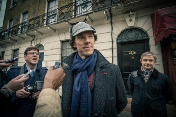 Sherlock Holmes ante la prensa