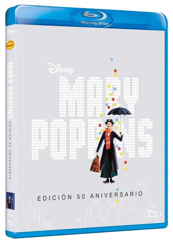 Mary Poppins. La edición Blu-ray del 50 aniversario.