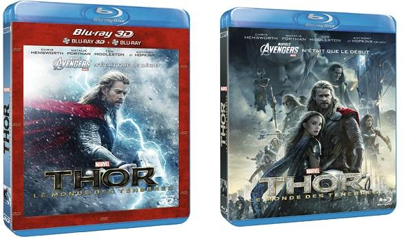 Thor. El Mundo oscuro. Ediciones BD y DVD