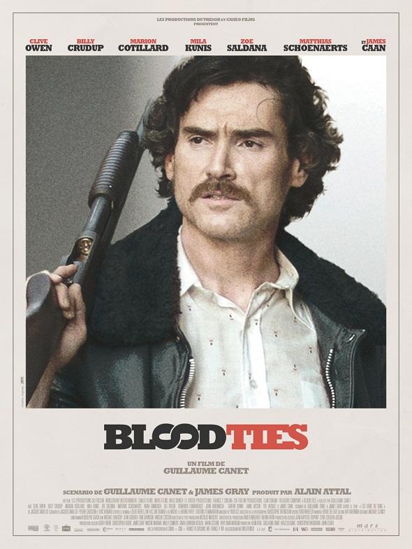 Póster de 'Blood ties' de Billy Crudup