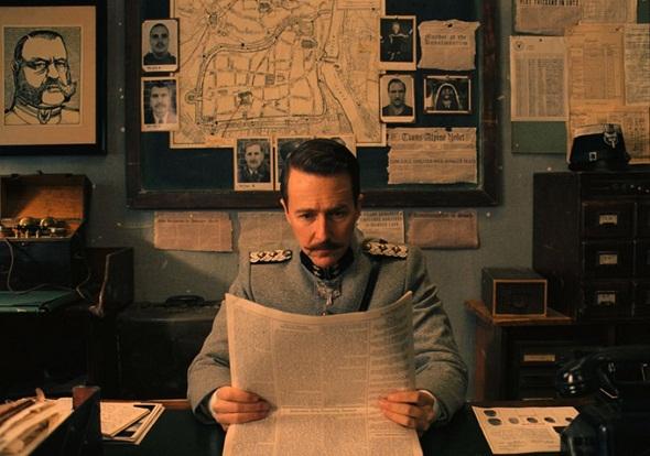 Edward Norton en 'El Gran Hotel Budapest'
