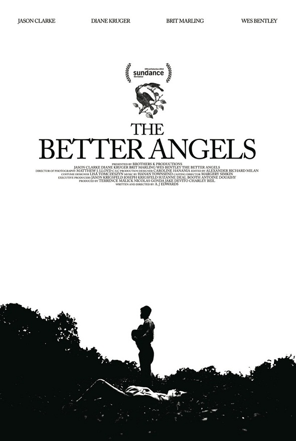 Póster de 'The better angels'