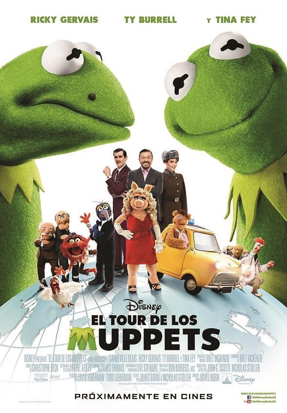 El tour de los Muppets. Póster internacional.