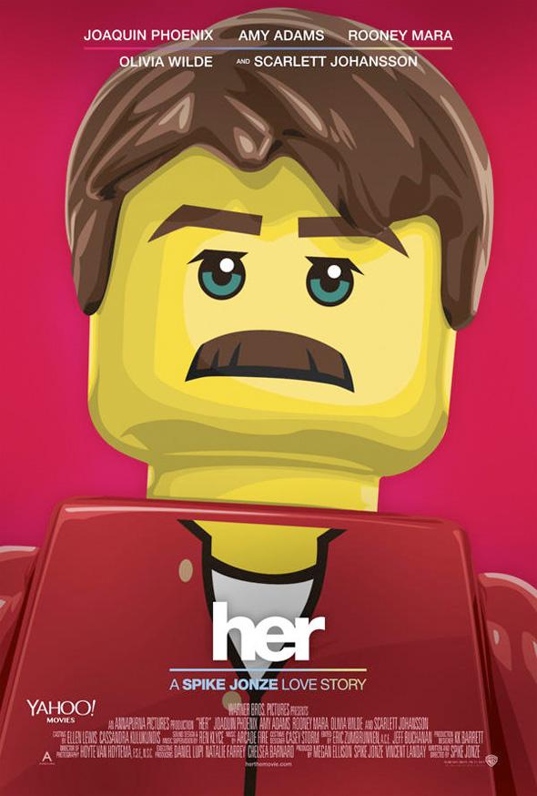 Póster de Lego para 'Her'