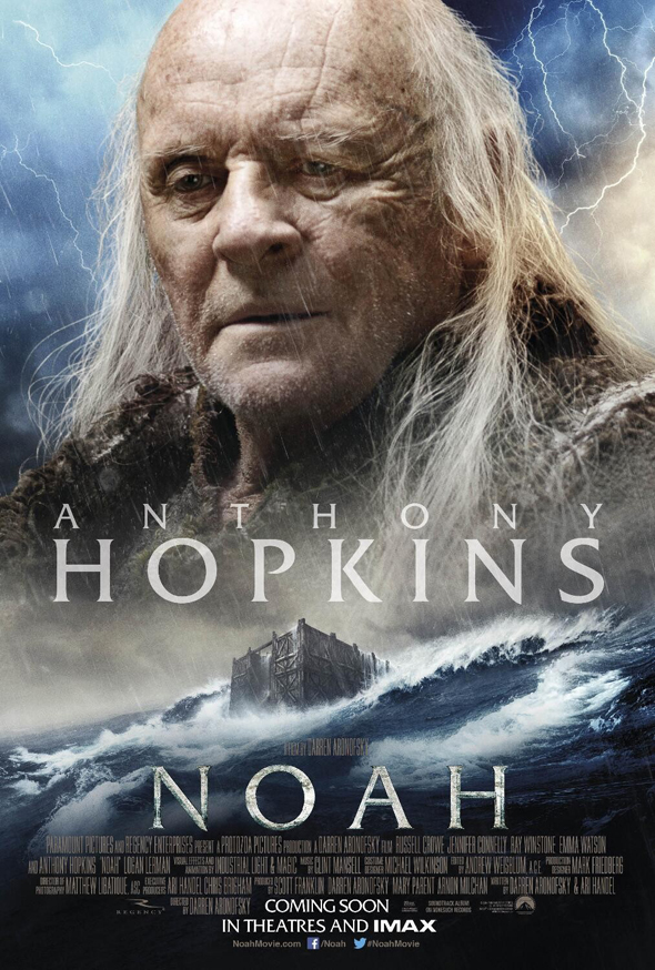 Póster de 'Noé' con Anthony Hopkins