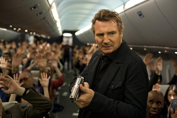 Liam Neeson, protagonista absoluto de 'Non-Stop'