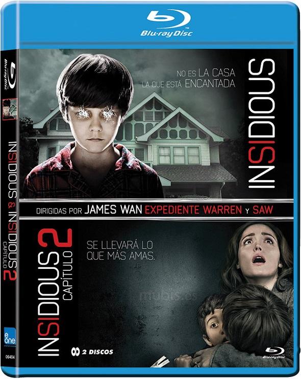 Edición especial Insidious en Blu-ray.