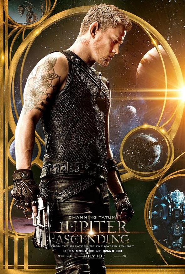 Póster de Channing Tatum para 'Jupiter Ascending'