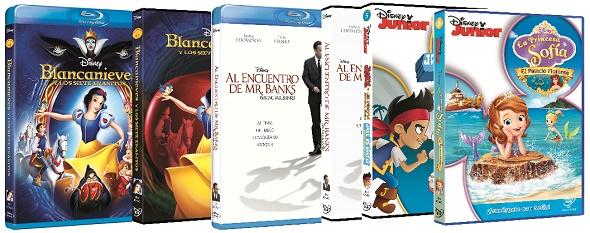 Estrenos Disney en DVD y BD para el mes de mayo de 2014