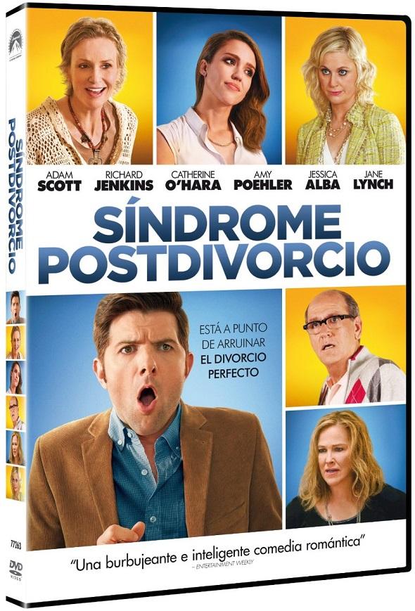 Edición DVD de 'Síndrome postdivorcio'