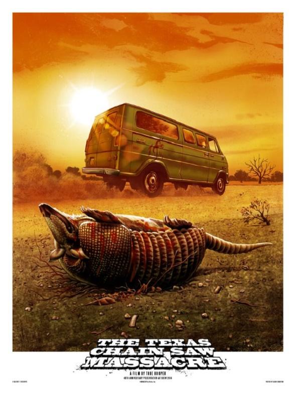 Póster de la Matanza de Texas