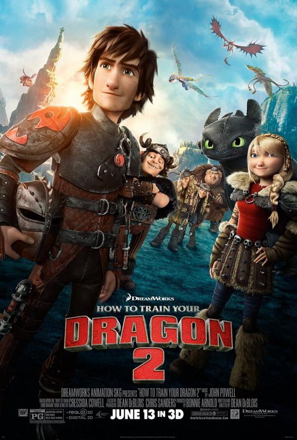Cómo entrenar a tu dragón 2( How to train your dragon 2)