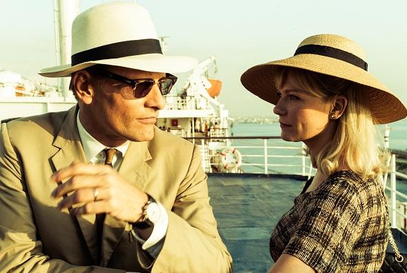 Viggo Mortensen y Kirsten Dunst en 'Las dos caras de enero'