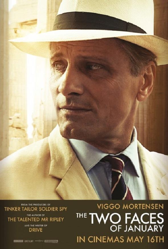 Póster de Viggo Mortensen para 'Las dos caras de enero'