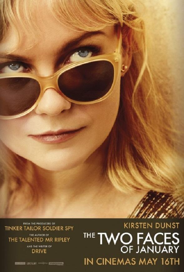 Póster de Kirsten Dunst para 'Las dos caras de enero'