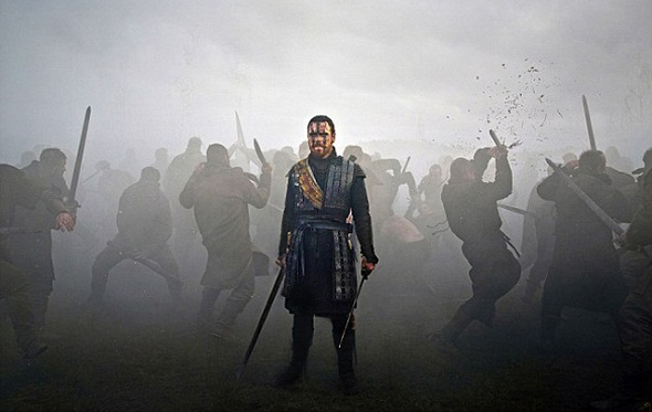 Fassbender guerrea en 'Macbeth'