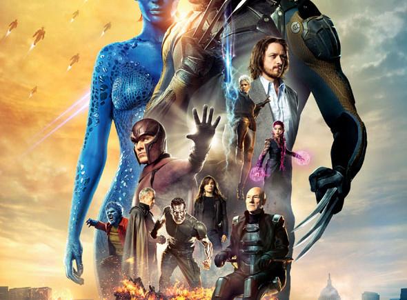 Cartel X-Men: Días del futuro pasado