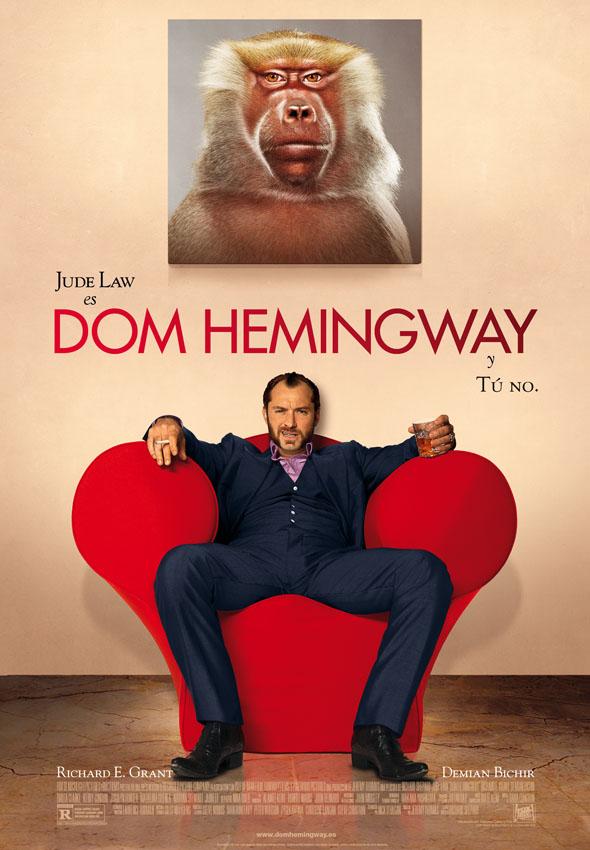Cartel Dom Hemingway