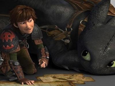 Cómo entrenar a tu dragón.Carrusel