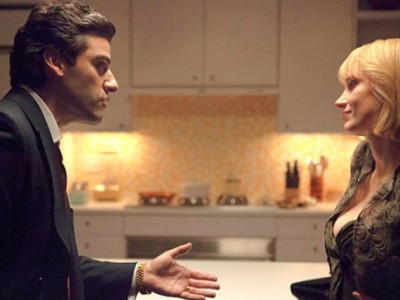 Oscar Isaac y Jessica Chastain en 'A most violent year'