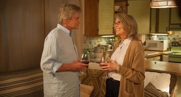 Michael Douglas y Diane Keaton se enamoran en 'And so it goes'